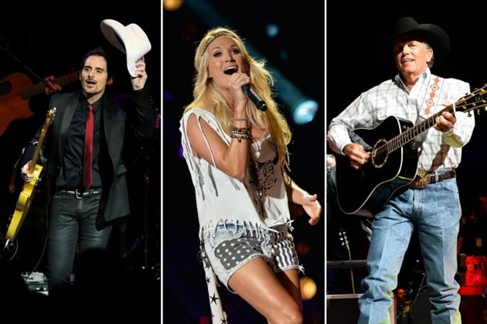 Most popular classic country songs