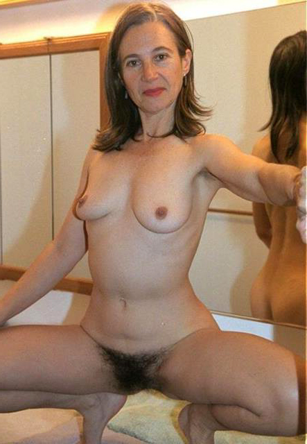 Naked hairy matures pic.
