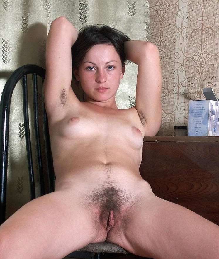 Amateur hairy white wife