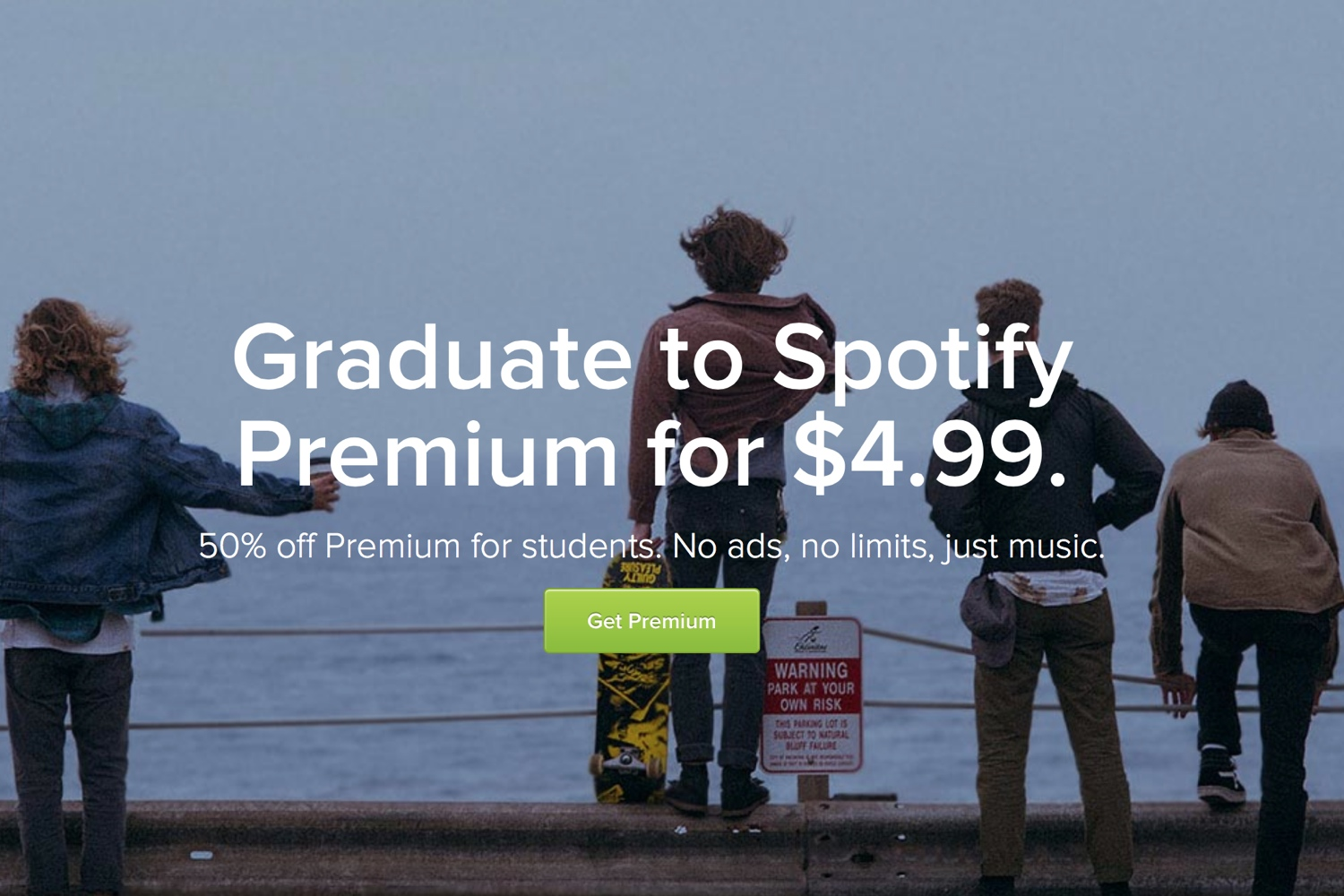 Spotify college student discount
