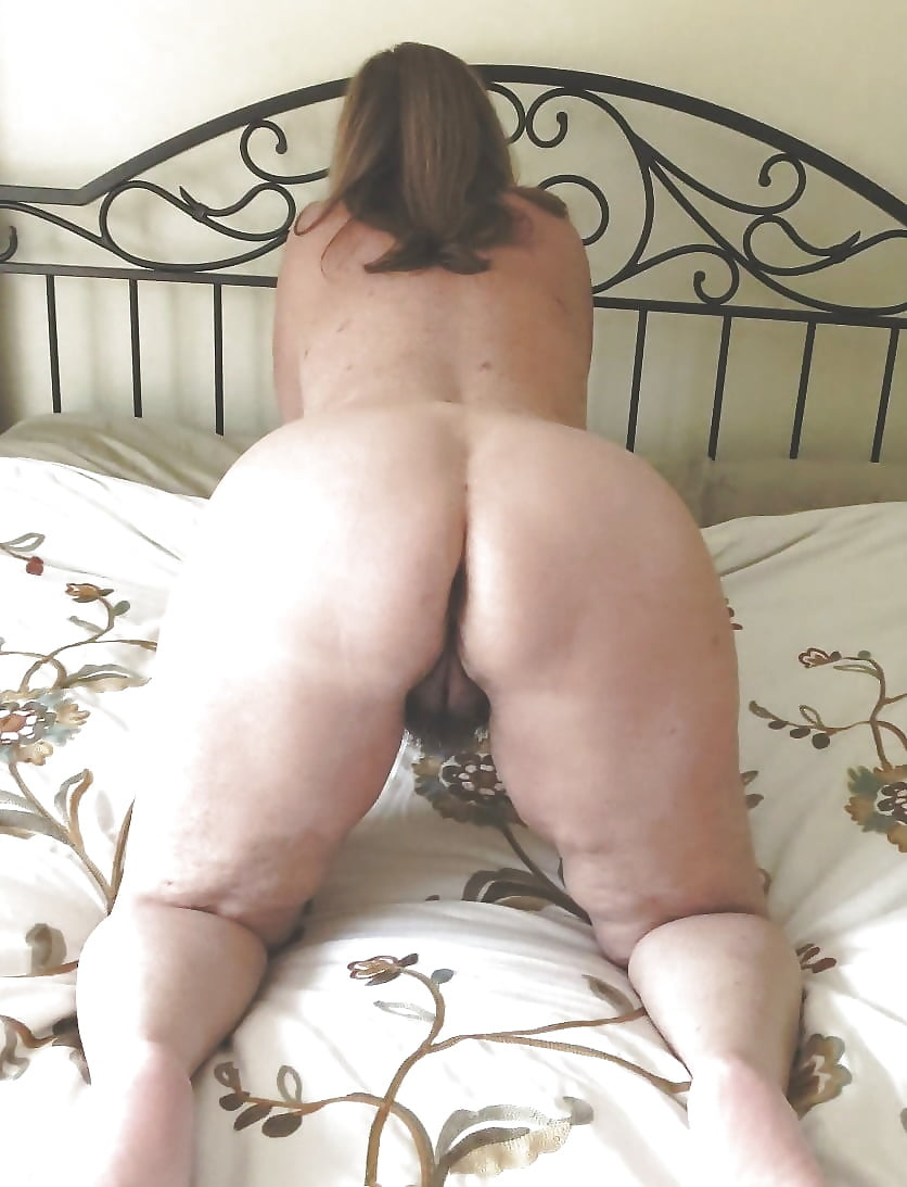 Bent over hairy matures