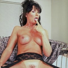 Hairy mature cougars