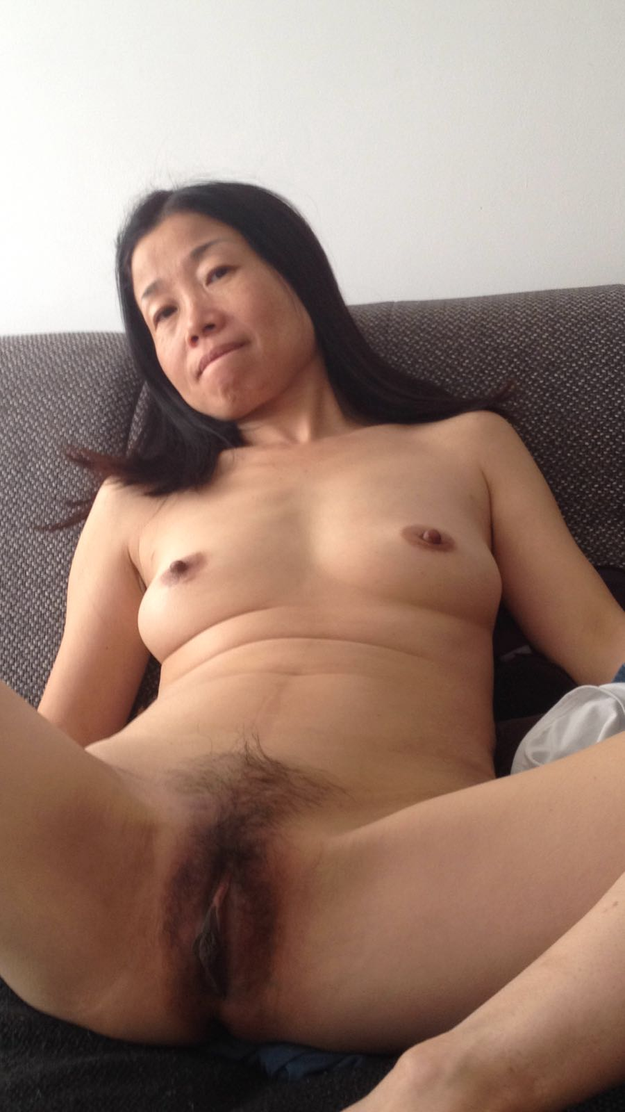 Real chinese hairy mature