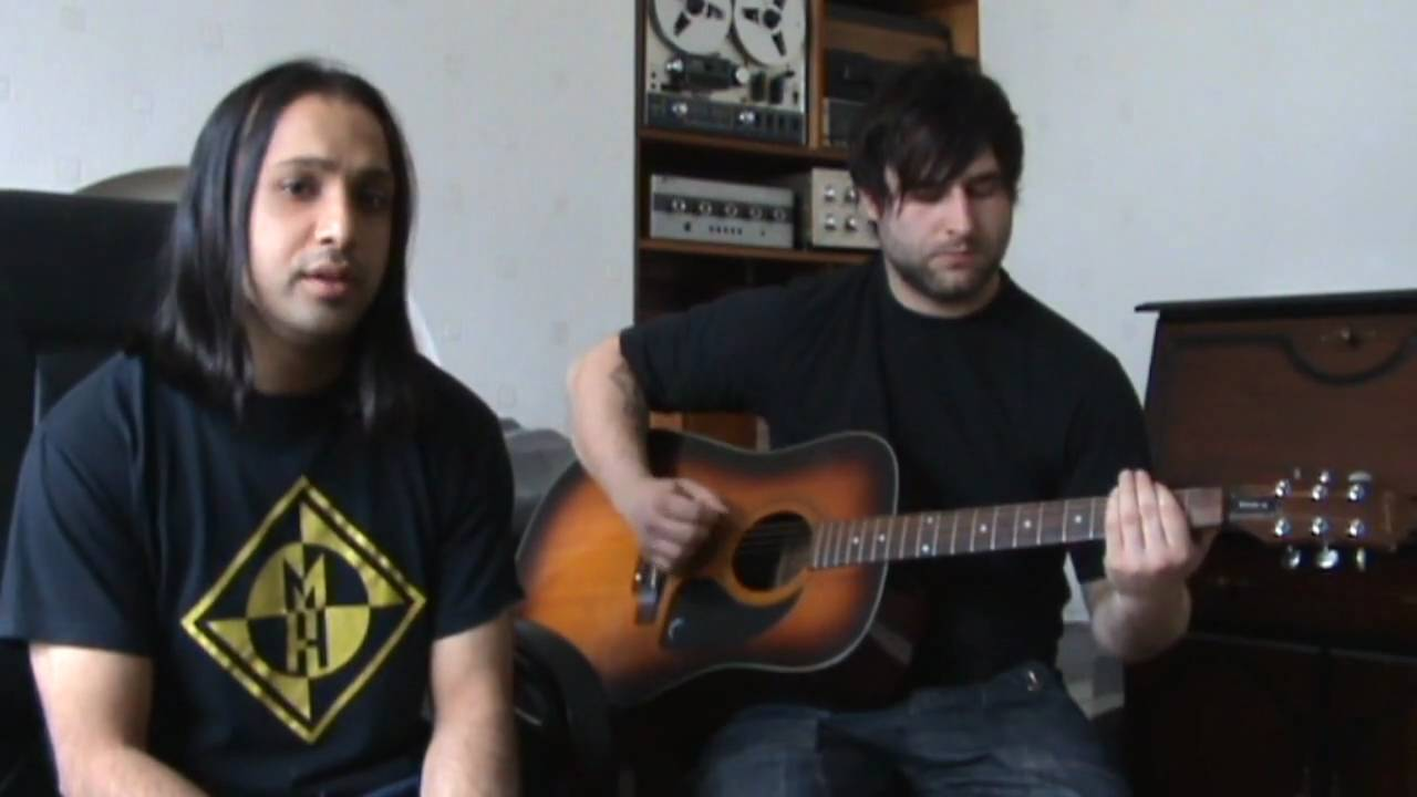 Show me how to live acoustic cover